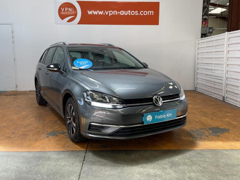 Volkswagen Golf SW VII SW 1.6 TDI 115 CH IQ.DRIVE Gris occasion à Labège