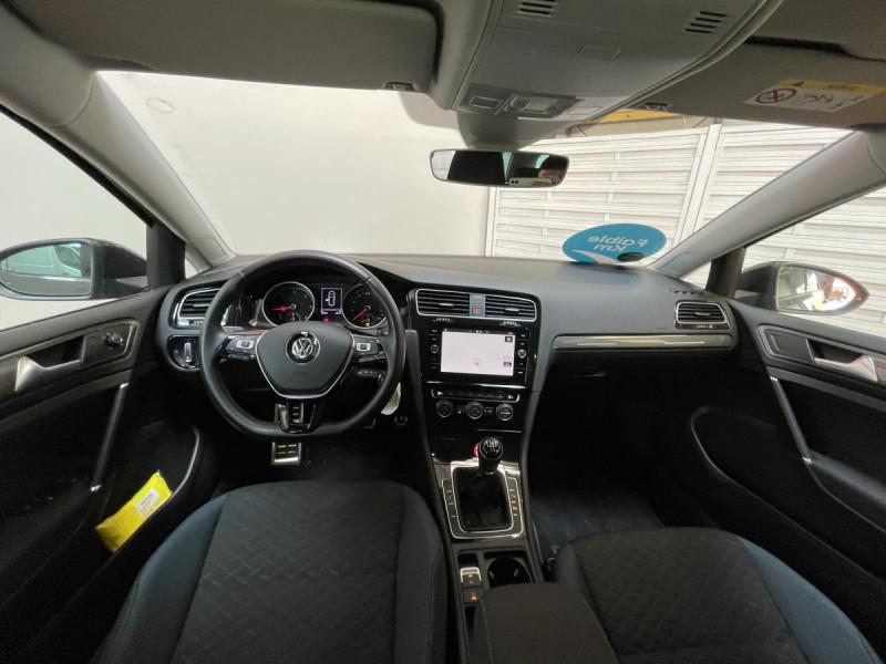 Volkswagen Golf SW VII SW 1.6 TDI 115 CH IQ.DRIVE Gris occasion à Labège - photo n°4