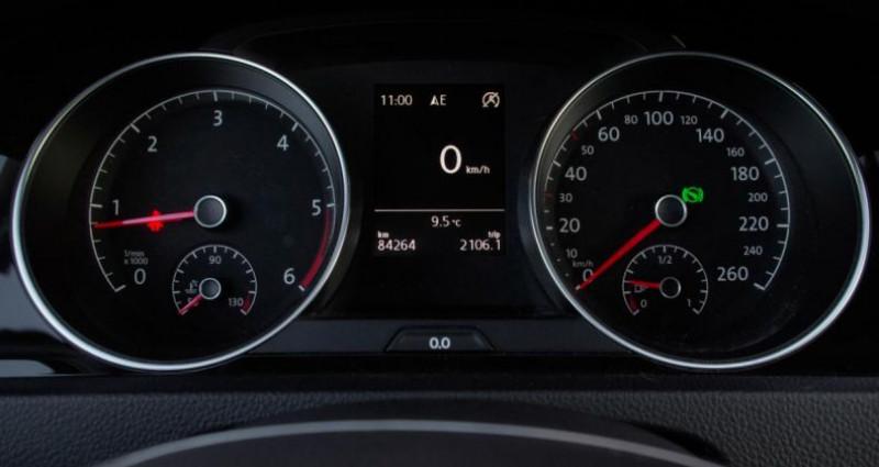 Volkswagen Golf SW VII SW 2.0 TDI 150 BLUEMOTION TECHNOLOGY CARAT DSG6 Blanc occasion à Chambourcy - photo n°5