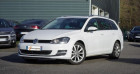 Volkswagen Golf SW VII SW 2.0 TDI 150 BLUEMOTION TECHNOLOGY CARAT DSG6 Blanc à Chambourcy 78