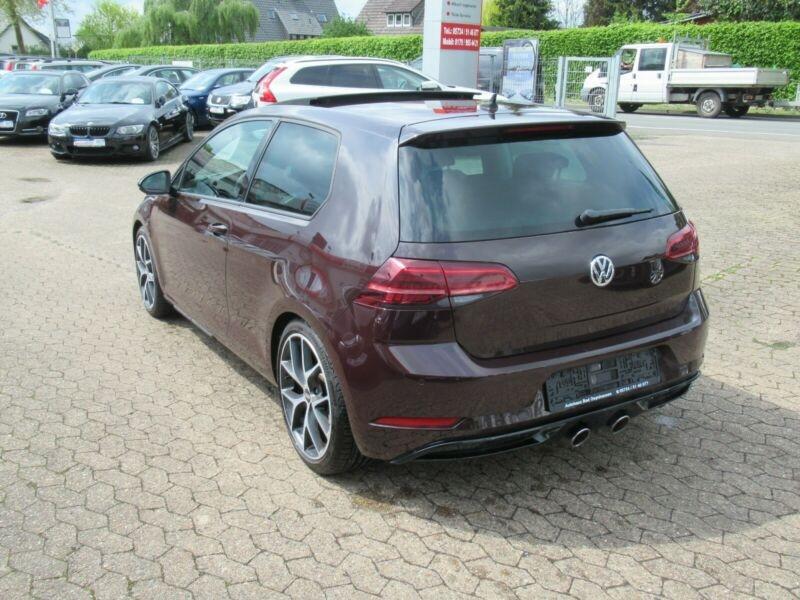 Volkswagen Golf VII 1.4 TSI 125CH BLUEMOTION TECHNOLOGY CARAT DSG7 5P Noir occasion à Villenave-d'Ornon - photo n°3