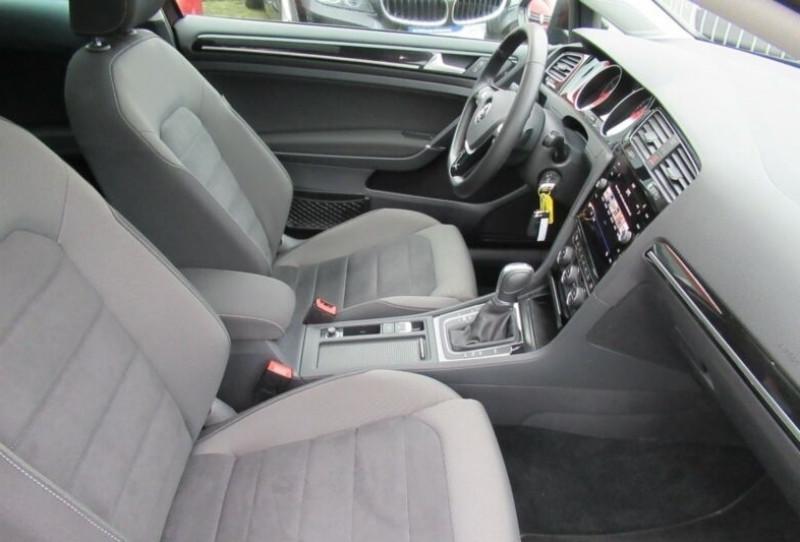 Volkswagen Golf VII 1.4 TSI 125CH BLUEMOTION TECHNOLOGY CARAT DSG7 5P Noir occasion à Villenave-d'Ornon - photo n°8