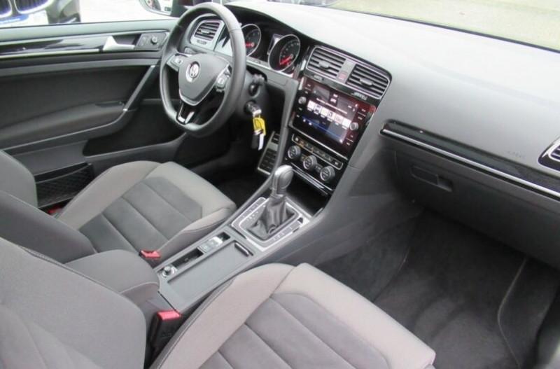 Volkswagen Golf VII 1.4 TSI 125CH BLUEMOTION TECHNOLOGY CARAT DSG7 5P Noir occasion à Villenave-d'Ornon - photo n°5