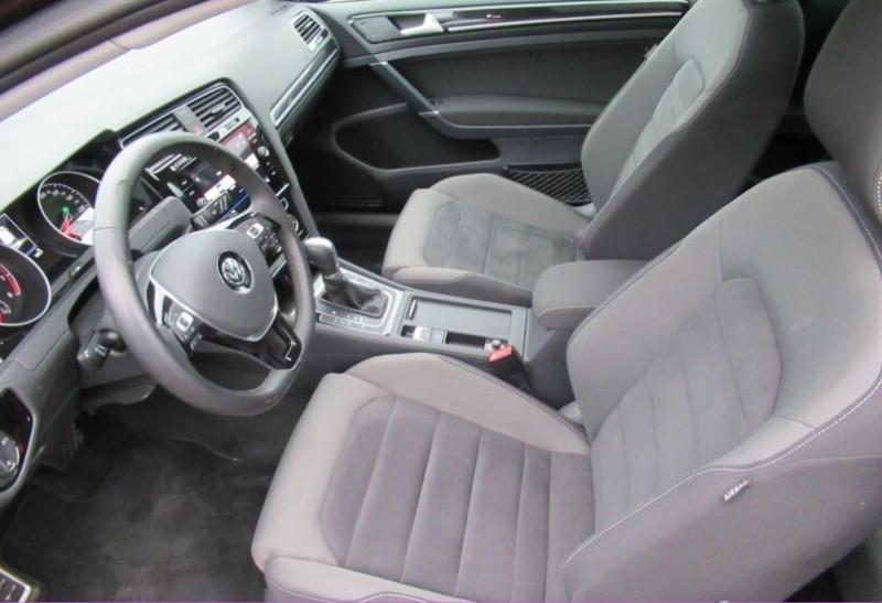 Volkswagen Golf VII 1.4 TSI 125CH BLUEMOTION TECHNOLOGY CARAT DSG7 5P Noir occasion à Villenave-d'Ornon - photo n°4