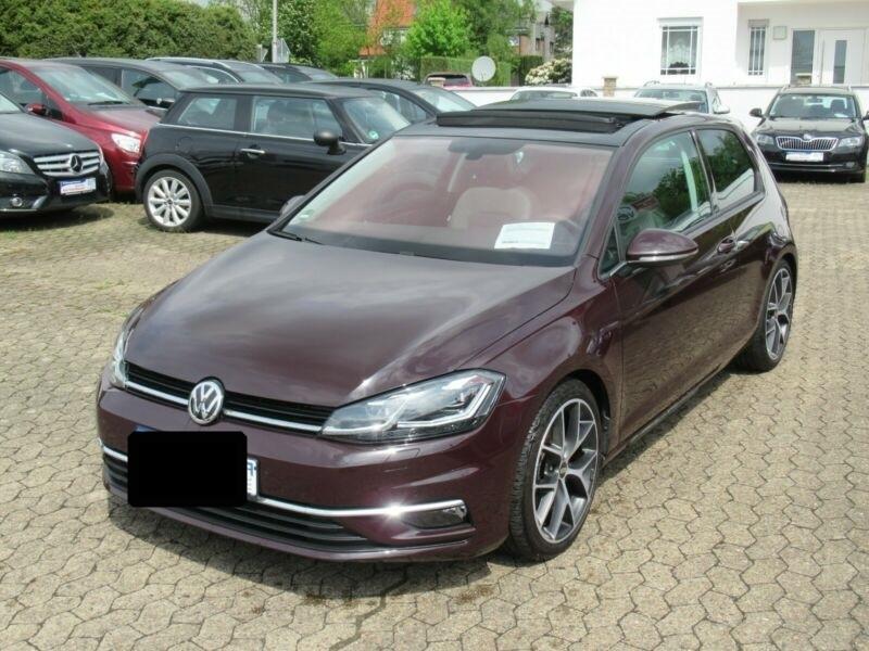 Volkswagen Golf VII 1.4 TSI 125CH BLUEMOTION TECHNOLOGY CARAT DSG7 5P Noir occasion à Villenave-d'Ornon