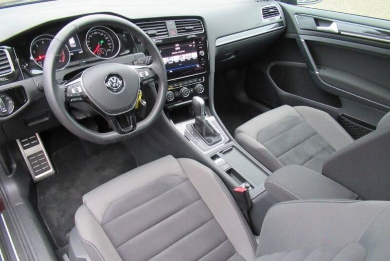 Volkswagen Golf VII 1.4 TSI 125CH BLUEMOTION TECHNOLOGY CARAT DSG7 5P Noir occasion à Villenave-d'Ornon - photo n°2
