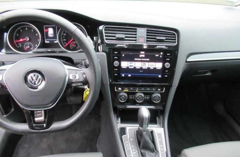 Volkswagen Golf VII 1.4 TSI 125CH BLUEMOTION TECHNOLOGY CARAT DSG7 5P Noir occasion à Villenave-d'Ornon - photo n°7