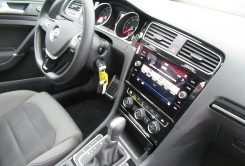Volkswagen Golf VII 1.4 TSI 125CH BLUEMOTION TECHNOLOGY CARAT DSG7 5P Noir occasion à Villenave-d'Ornon - photo n°9