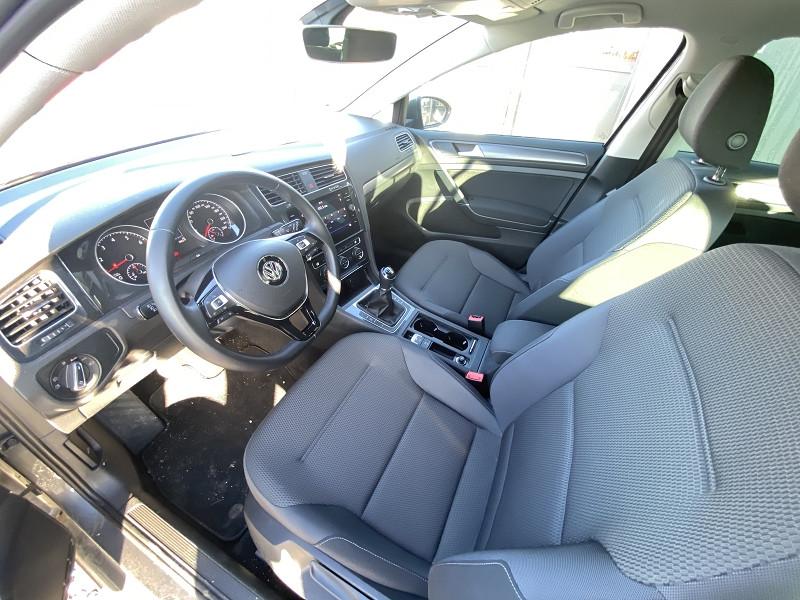 Volkswagen Golf VII 1.5 TSI EVO 130CH CONFORTLINE EURO6D-T 5P 7CV Gris occasion à Mées - photo n°9