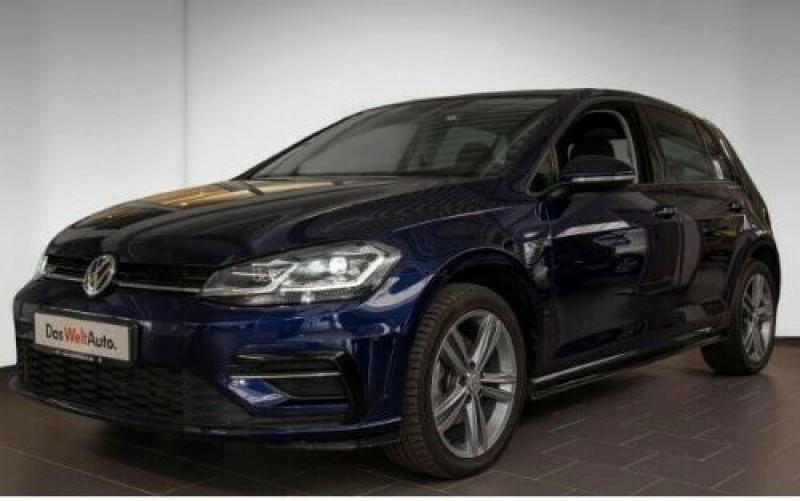 Volkswagen Golf VII 1.6 TDI 115CH FAP CARAT DSG7 EURO6D-T 5P Bleu occasion à Villenave-d'Ornon