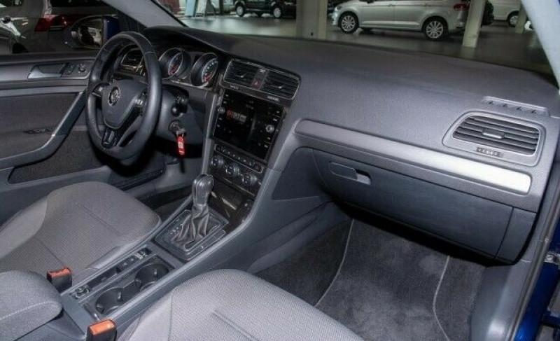 Volkswagen Golf VII 1.6 TDI 115CH FAP CARAT DSG7 EURO6D-T 5P Bleu occasion à Villenave-d'Ornon - photo n°7