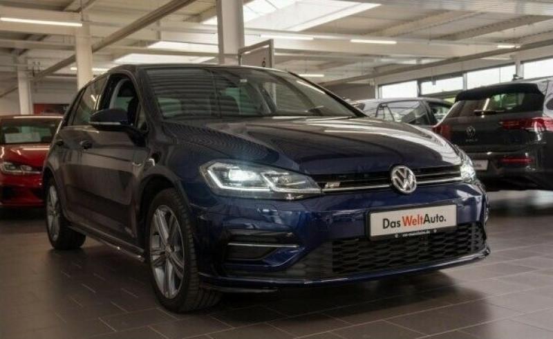 Volkswagen Golf VII 1.6 TDI 115CH FAP CARAT DSG7 EURO6D-T 5P Bleu occasion à Villenave-d'Ornon - photo n°2