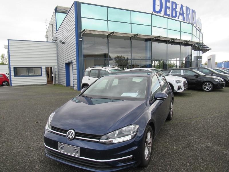 Volkswagen Golf VII 1.6 TDI 115CH FAP CONFORTLINE DSG7 EURO6D-T 5P Bleu occasion à Labège