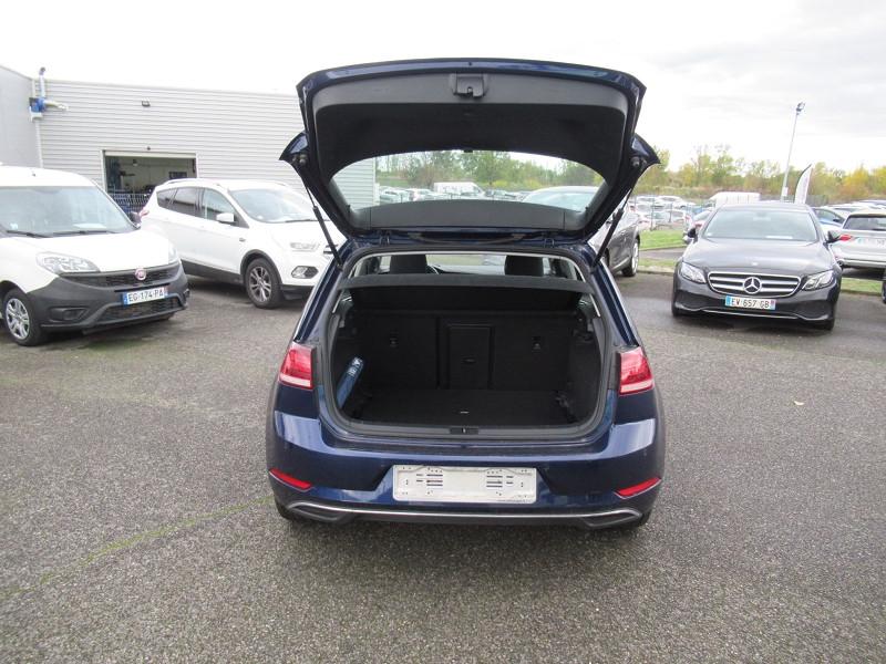 Volkswagen Golf VII 1.6 TDI 115CH FAP CONFORTLINE DSG7 EURO6D-T 5P Bleu occasion à Labège - photo n°8