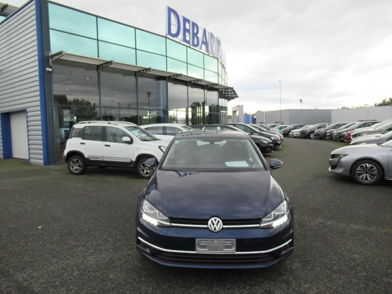 Volkswagen Golf VII 1.6 TDI 115CH FAP CONFORTLINE DSG7 EURO6D-T 5P Bleu occasion à Labège - photo n°3
