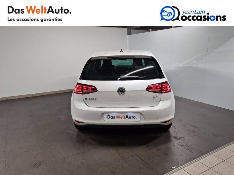 Volkswagen Golf VII E-Golf 115 Electrique 5p Blanc occasion à La Motte-Servolex - photo n°6