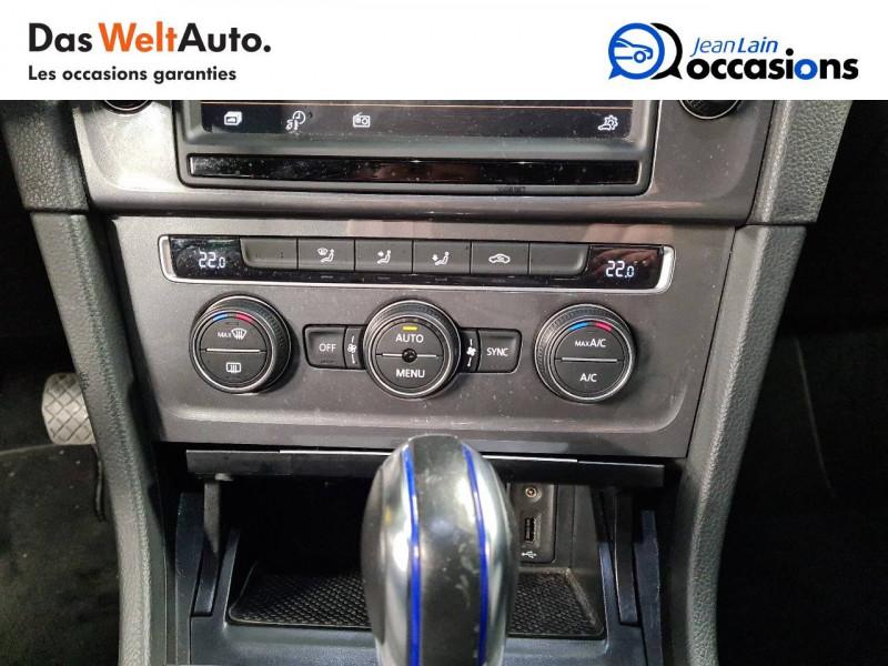 Volkswagen Golf VII E-Golf 115 Electrique 5p Blanc occasion à La Motte-Servolex - photo n°14