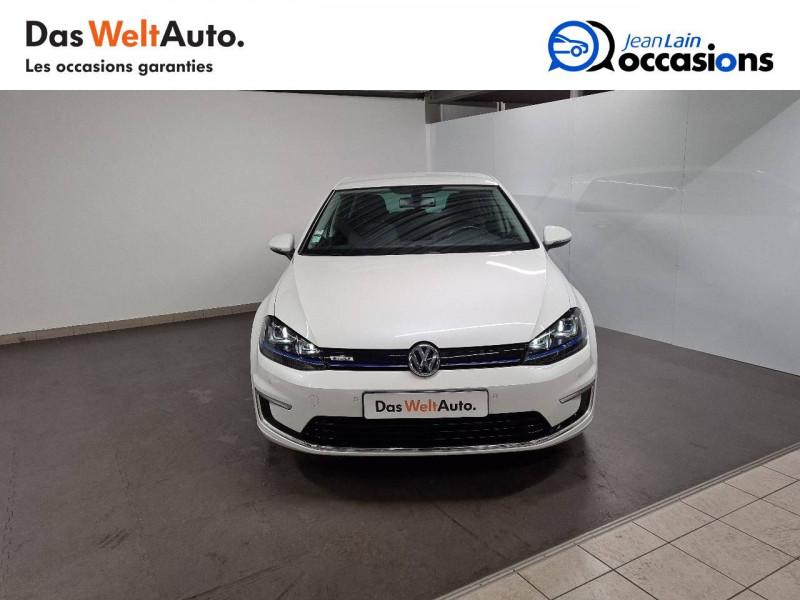 Volkswagen Golf VII E-Golf 115 Electrique 5p Blanc occasion à La Motte-Servolex - photo n°2