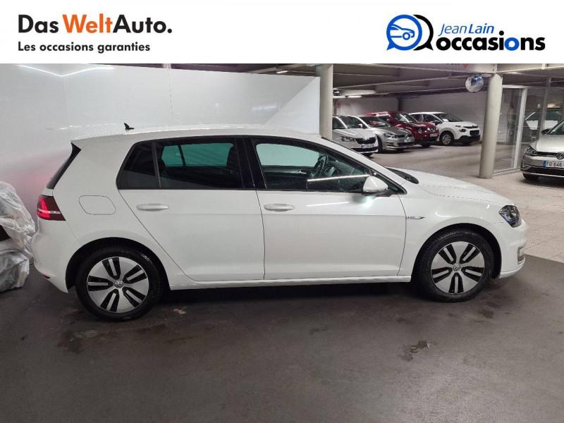 Volkswagen Golf VII E-Golf 115 Electrique 5p Blanc occasion à La Motte-Servolex - photo n°4