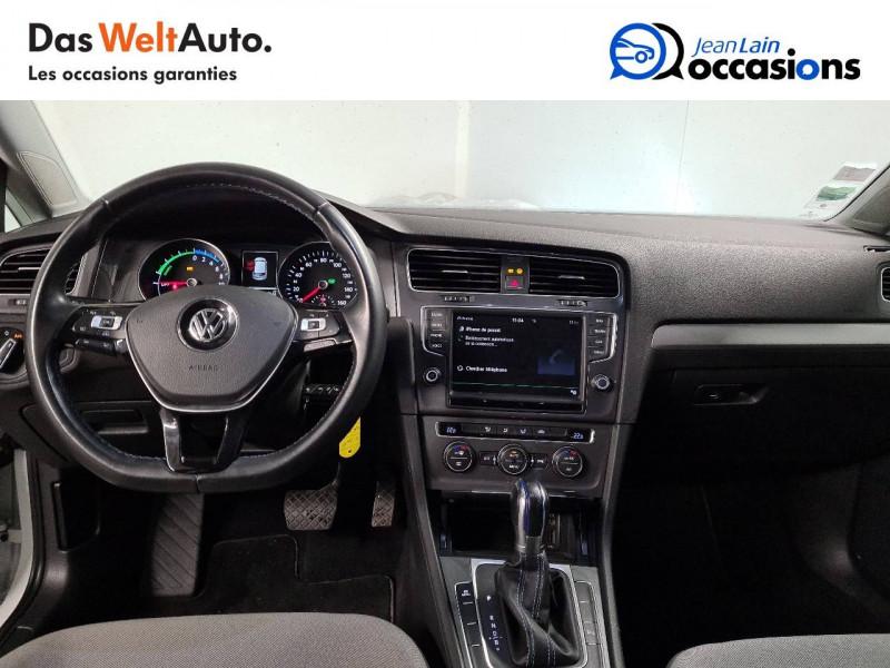 Volkswagen Golf VII E-Golf 115 Electrique 5p Blanc occasion à La Motte-Servolex - photo n°18
