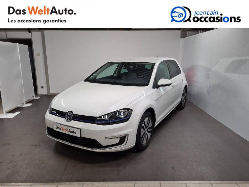 Volkswagen Golf VII E-Golf 115 Electrique 5p Blanc occasion à La Motte-Servolex