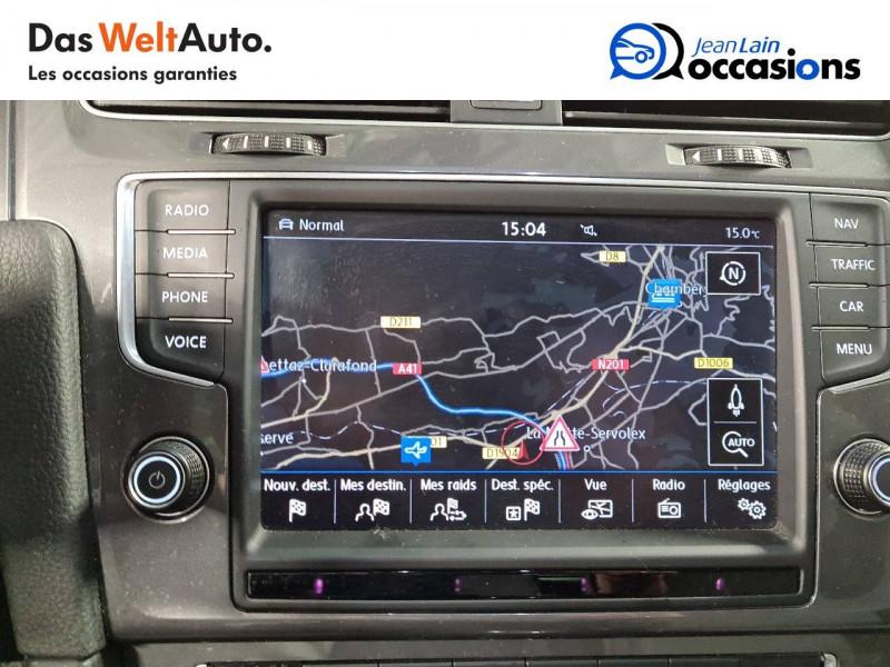 Volkswagen Golf VII E-Golf 115 Electrique 5p Blanc occasion à La Motte-Servolex - photo n°15