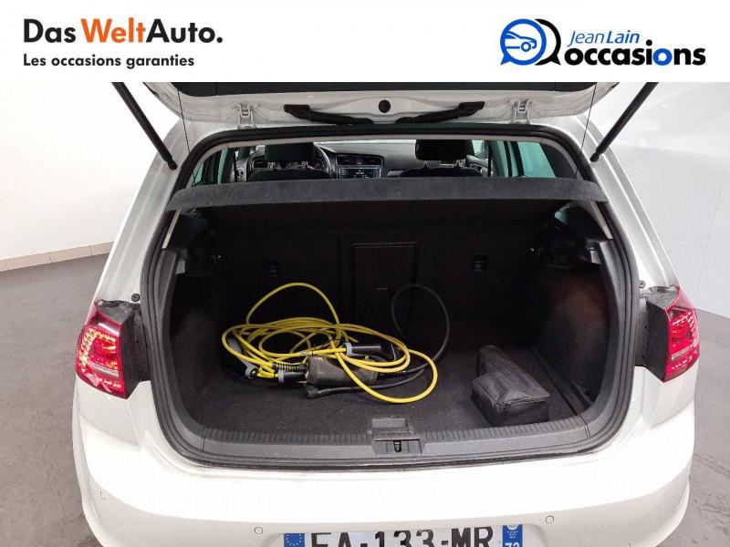 Volkswagen Golf VII E-Golf 115 Electrique 5p Blanc occasion à La Motte-Servolex - photo n°10