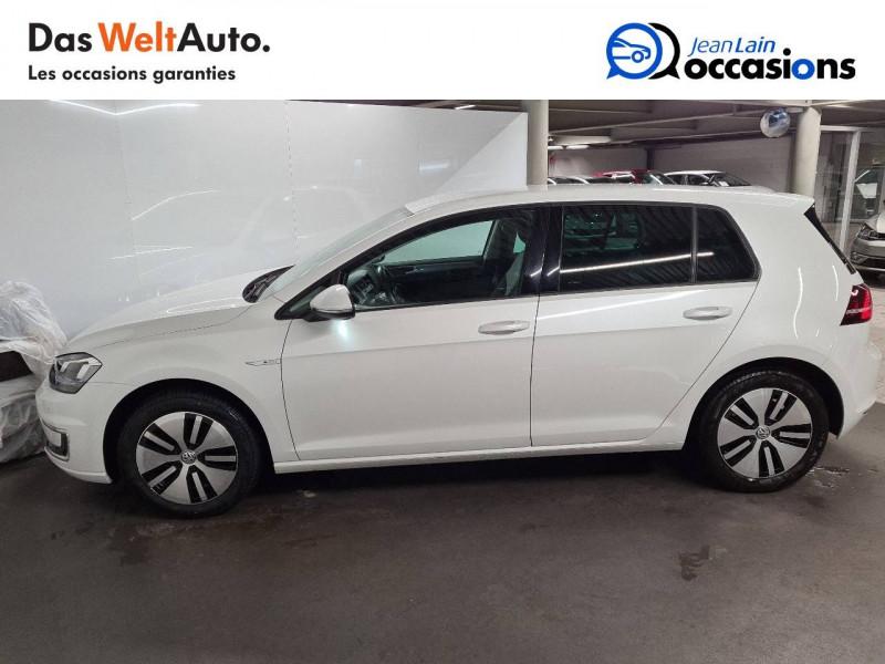 Volkswagen Golf VII E-Golf 115 Electrique 5p Blanc occasion à La Motte-Servolex - photo n°8
