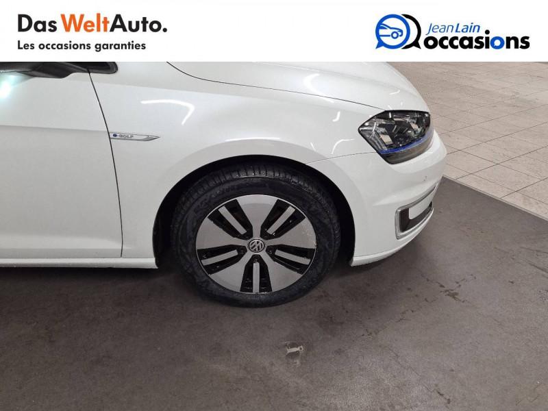 Volkswagen Golf VII E-Golf 115 Electrique 5p Blanc occasion à La Motte-Servolex - photo n°9