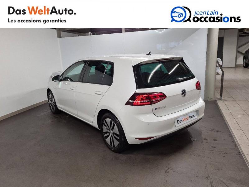 Volkswagen Golf VII E-Golf 115 Electrique 5p Blanc occasion à La Motte-Servolex - photo n°7