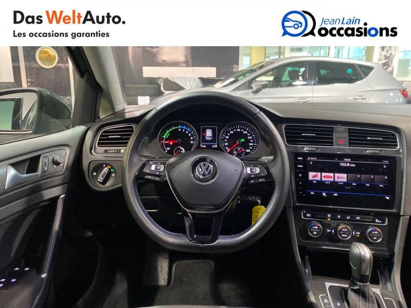 Volkswagen Golf VII E-Golf 136 Electrique 5p Gris occasion à Meythet - photo n°11