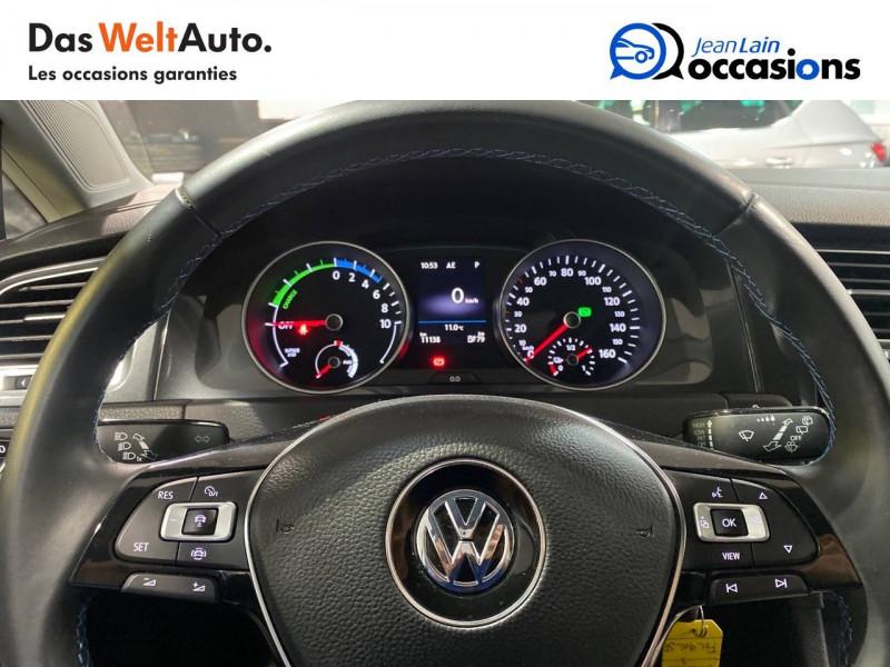 Volkswagen Golf VII E-Golf 136 Electrique 5p Gris occasion à Meythet - photo n°12