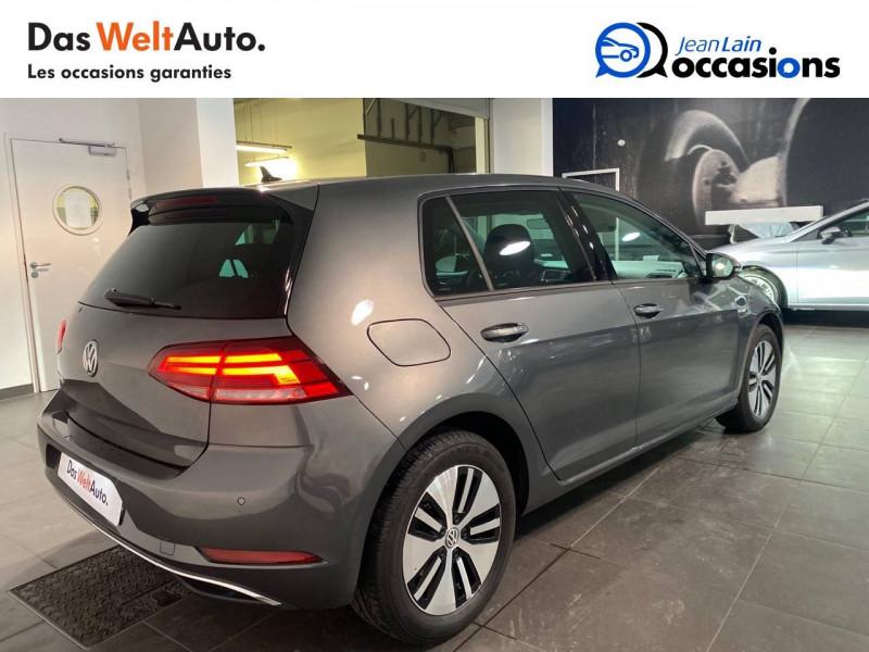 Volkswagen Golf VII E-Golf 136 Electrique 5p Gris occasion à Meythet - photo n°5
