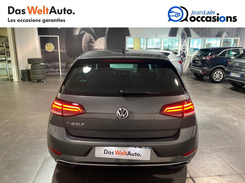 Volkswagen Golf VII E-Golf 136 Electrique 5p Gris occasion à Meythet - photo n°6