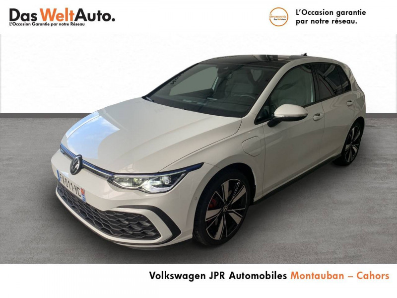 Volkswagen Golf VII Golf 1.4 Hybrid Rechargeable OPF 245 DSG6 GTE 5p Blanc occasion à Cahors
