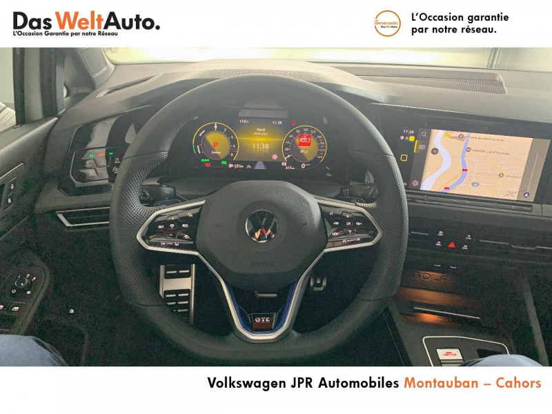 Volkswagen Golf VII Golf 1.4 Hybrid Rechargeable OPF 245 DSG6 GTE 5p Blanc occasion à Cahors - photo n°10