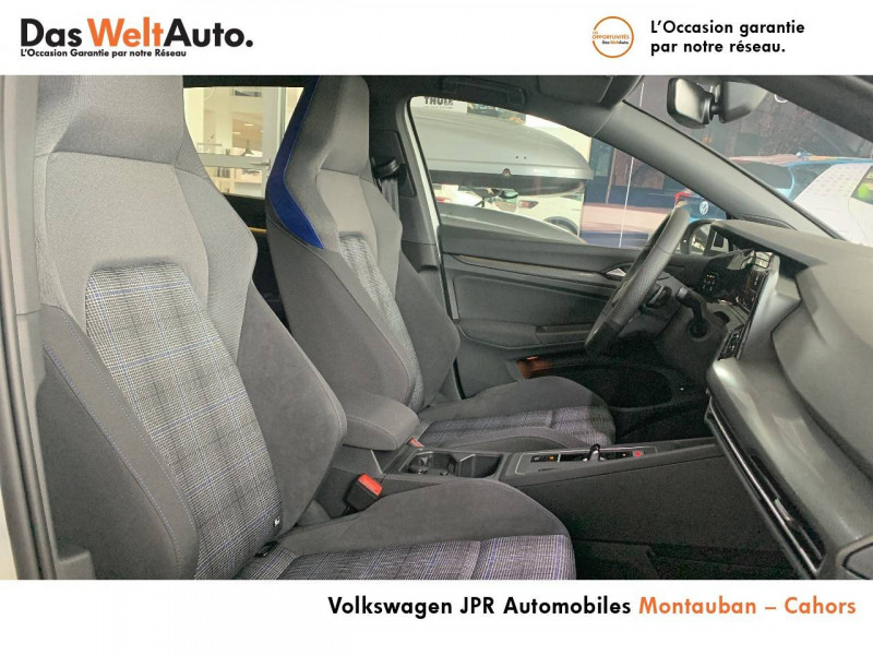 Volkswagen Golf VII Golf 1.4 Hybrid Rechargeable OPF 245 DSG6 GTE 5p Blanc occasion à montauban - photo n°6