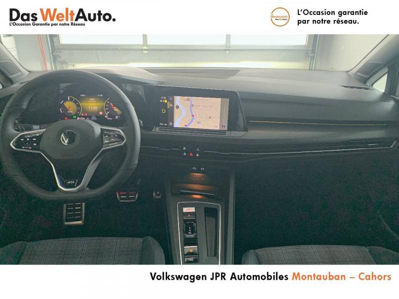 Volkswagen Golf VII Golf 1.4 Hybrid Rechargeable OPF 245 DSG6 GTE 5p Blanc occasion à montauban - photo n°5