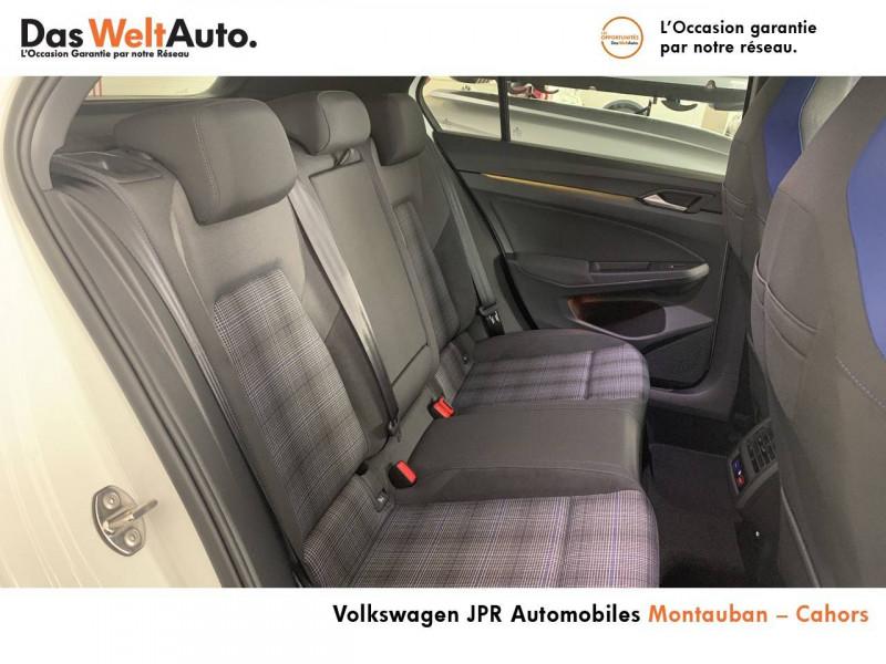 Volkswagen Golf VII Golf 1.4 Hybrid Rechargeable OPF 245 DSG6 GTE 5p Blanc occasion à montauban - photo n°7