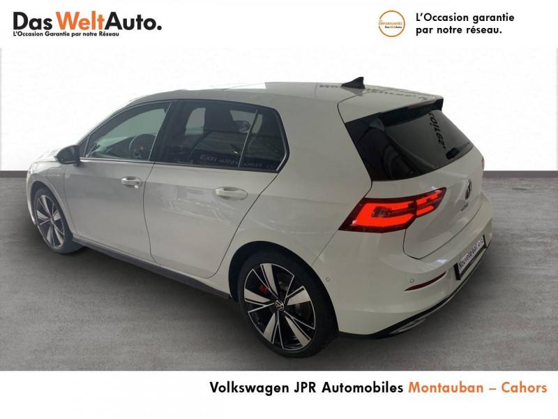 Volkswagen Golf VII Golf 1.4 Hybrid Rechargeable OPF 245 DSG6 GTE 5p Blanc occasion à montauban - photo n°4