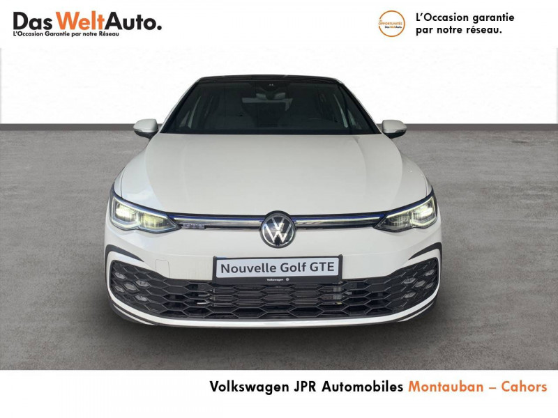 Volkswagen Golf VII Golf 1.4 Hybrid Rechargeable OPF 245 DSG6 GTE 5p Blanc occasion à montauban - photo n°2