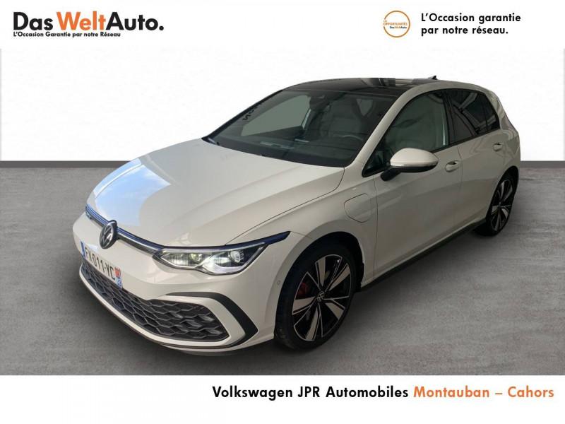Volkswagen Golf VII Golf 1.4 Hybrid Rechargeable OPF 245 DSG6 GTE 5p Blanc occasion à montauban
