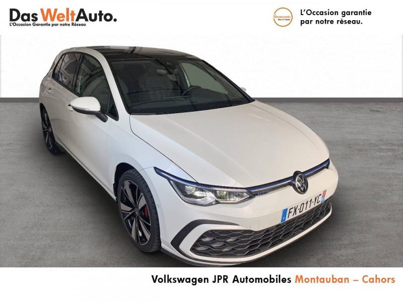 Volkswagen Golf VII Golf 1.4 Hybrid Rechargeable OPF 245 DSG6 GTE 5p Blanc occasion à montauban - photo n°3