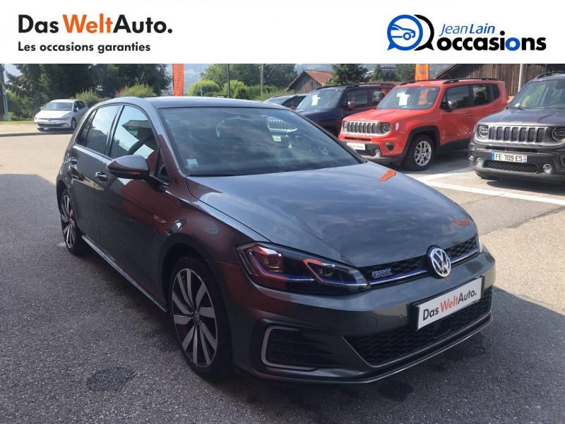 Volkswagen Golf VII Golf 1.4 TSI 150 Hybride Rechargeable DSG6 GTE 5p Gris occasion à Sallanches - photo n°3
