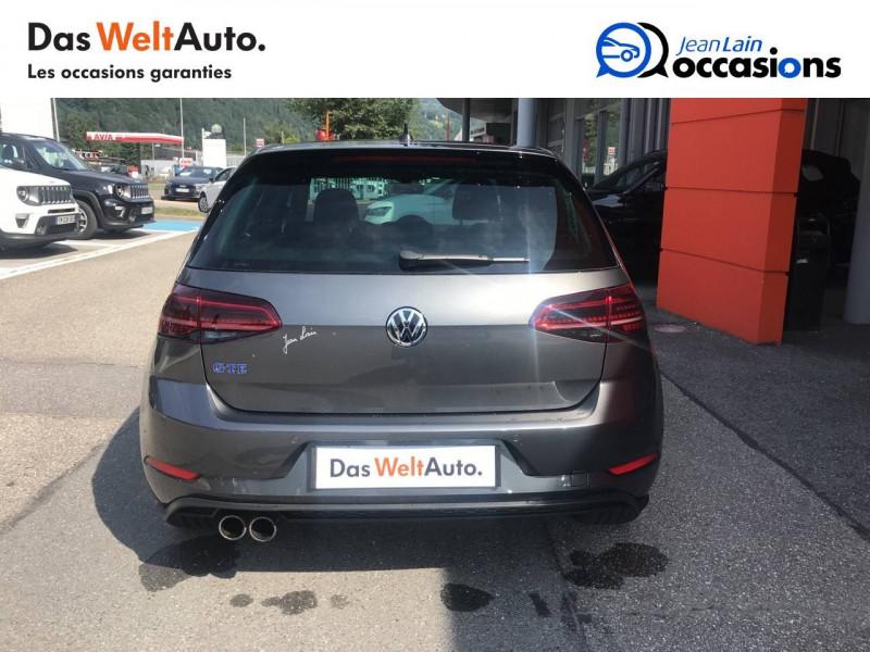 Volkswagen Golf VII Golf 1.4 TSI 150 Hybride Rechargeable DSG6 GTE 5p Gris occasion à Sallanches - photo n°6
