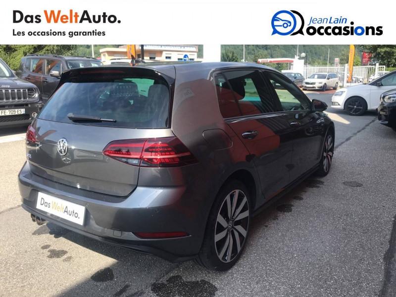 Volkswagen Golf VII Golf 1.4 TSI 150 Hybride Rechargeable DSG6 GTE 5p Gris occasion à Sallanches - photo n°5
