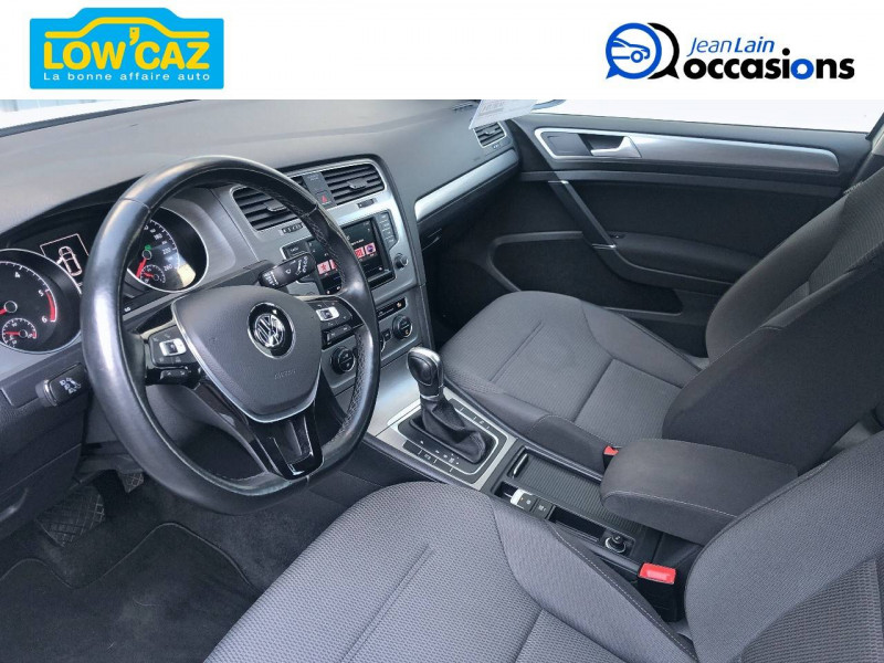 Volkswagen Golf VII Golf 1.6 TDI 110 BlueMotion Technology FAP DSG7 Confortline  Blanc occasion à La Ravoire - photo n°11
