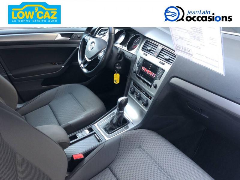 Volkswagen Golf VII Golf 1.6 TDI 110 BlueMotion Technology FAP DSG7 Confortline  Blanc occasion à La Ravoire - photo n°14
