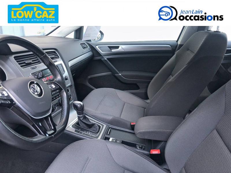 Volkswagen Golf VII Golf 1.6 TDI 110 BlueMotion Technology FAP DSG7 Confortline  Blanc occasion à La Ravoire - photo n°12