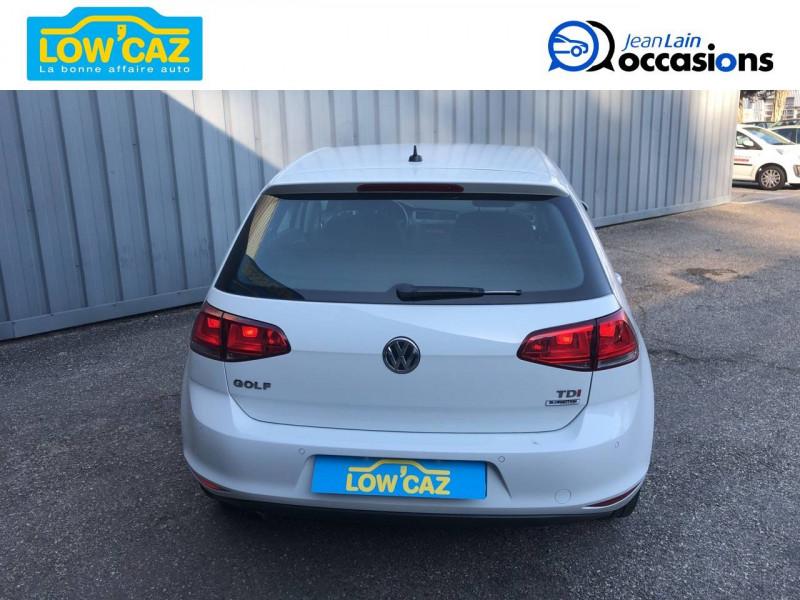 Volkswagen Golf VII Golf 1.6 TDI 110 BlueMotion Technology FAP DSG7 Confortline  Blanc occasion à La Ravoire - photo n°6